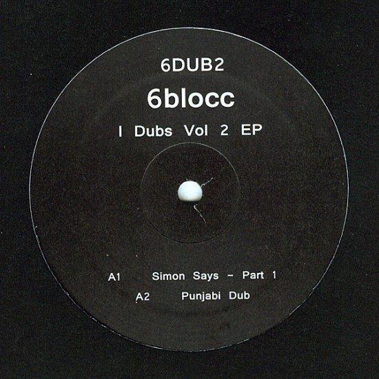 """6DUB2 - 6Blocc - I Dubs Vol 2 EP (12"""") *6DUB"""