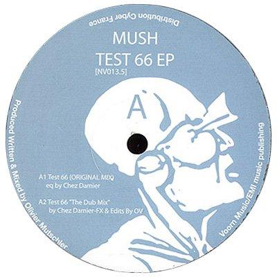"""NV013.5 - Mush - Test 66 Remixes (12"""") NIGHT VISION"""