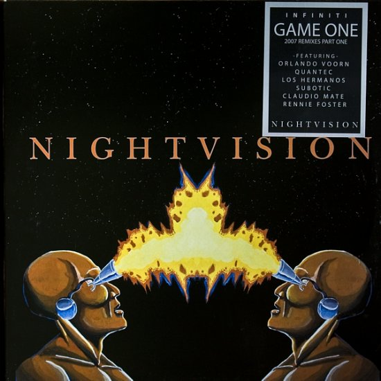 "NV011 - Infiniti - Game One 2007 Remixes Part One (3x12"") *NIGHT VISION"