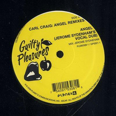 """PE65308 - Carl Craig - Angel Remixes (12"""") *PLANET E/GUILTY PLEASURES"""
