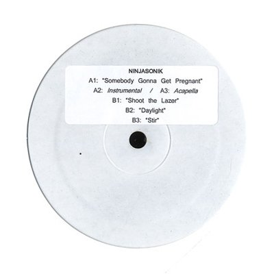 "PRGRCRDS01 - Ninjasonik - Somebody Gonna Get Pregnant (12"") *WHT LBL"
