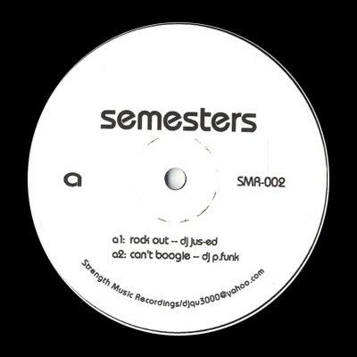 "SMR002 - Various - Semesters (12"") *STRENGTH MUSIC"