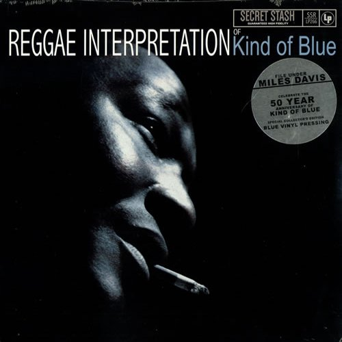 SSRLP266 - Jeremy Taylor - Reggae Interpretation Of Kind Of Blue (LP) *SECRET STASH