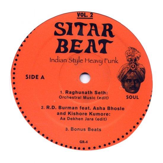 "GR4LP - Various - Sitar Beat Vol. 2 (12"") *GUERILLA REISSUES"