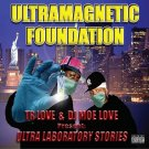 BPCD04 - Ultramagnetic Foundation - Ultra Laboratory Stories (CD) BLACK PEGASUS