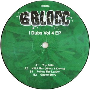 6DUB4 - 6Blocc - I Dubs Vol 4 EP (12&quot;)  6DUB
