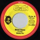 "JMRP706 - Blazing Fire - Blood Dunza (7"") JA-MAN RECORDS"