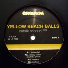 "KJ004 - Yellow Beach Balls - Babak Sabouri EP (12"") KRAFTJERKZ"