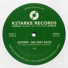 "KR004 - Adonis - No Way Back (12"") KSTARKE RECORDS"