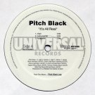 "MOTR20999 - Pitch Black - It's All Real (12"") UNIVERSAL RECORDS"