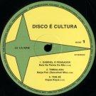 """PDBDB01 - Various - Disco É Cultura (12"""") DISCO É CULTURA"""