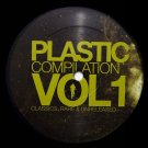 "PR01B - Various - Plastic Compilation Vol. 1: Classics Rare & Unreleased EP2 (12"") PLASTIC REC"