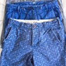 HOLLISTER HURLEY OLD NAVY MEN'S SHORTS Teen 4 Lot Size 28  Blue Gray Name Brand