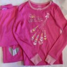 GYMBOREE VALENTINE'S DAY PAJAMAS PJ'S Pink Long Sleeves & Pants Sizes 7 & 8 NWT