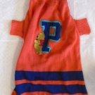 DOG PET SWEATER WINNIE THE POOH DISNEY Size Large Orange Blue EUC