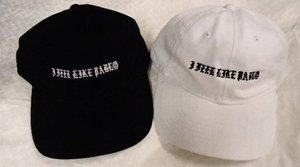I FEEL LIKE PABLO HAT CAP Black White Adjustable YEEZY KANYE Unisex Gift NWOT