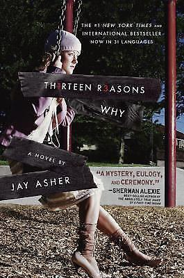 Th1rteen R3asons Why by Jay Asher Hardcover Book (English)