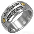 Immaculate Stainless Steel Ring - size 7.5