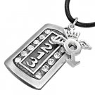 Cool Dog Tag Necklace - Angel Girl