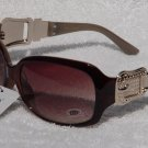 Women's DG Eyewear Shades w/ Gold Buckle