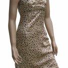 Leopard Print Halter Dress