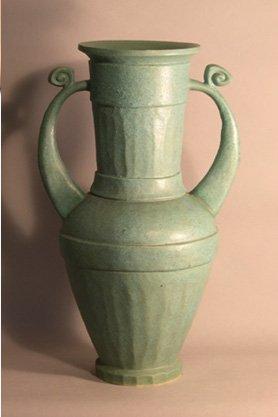 Greek Aqua Vase