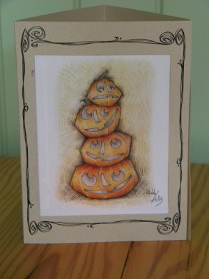 Pumpkin Stack Luminary