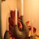 The Windrift Candle Set - Leaf Green Glaze