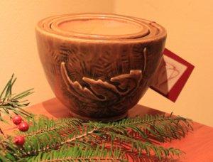 Nesting Bowls - Golden Oak Glaze