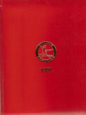 1991 St. Louis Cardinals Radio Affiliate Binder Calendar