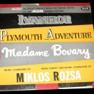 Ivanhoe | Plymouth Adventure | Madame Bovary Original Soundtrack Music