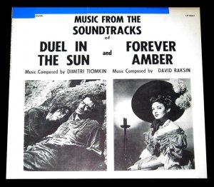 Duel in the Sun - Tiomkin / Forever Amber - Raskin Original Soundtracks