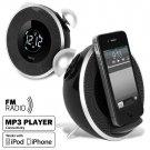 Digital Alarm Clock MP3 Radio for iPhone & iPod