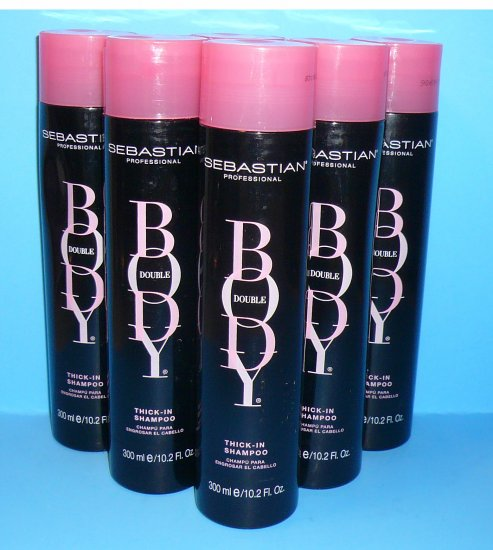 6 Sebastian Professional Body Double Thick-In Shampoo �