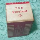Vintage Tru-Vue Filmstrip Fairyland 208 #2 in original box