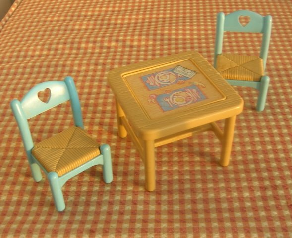 Fisher Price Loving Family Dollhouse Furniture Flip Top