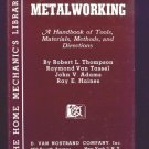 Vintage Metalworking Book