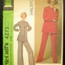 70s Vintage Sewing Pattern  Halston Pantsuit McCall's 4273