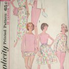 Vintage Sewing Pattern Simplicity Pattern 5299 Mad Men Style 60s Evening Gown, Dress Separates