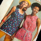 Simplicity 5547 Gathered Top Vintage 70s Sewing Pattern