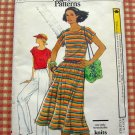 Vintage Vogue Sewing Pattern 9828 Top, Skirt, Pants