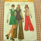70s Tunic Simplicity 5801 Vintage Sewing Pattern