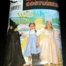 Wizard of Oz Costumes Girls Simplicity 0631 Sewing Pattern