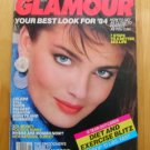 Whitney Houston Glamour magazine January 1984