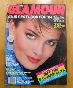 Whitney Houston Glamour magazine January 1984