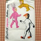 Child's Easter Bunny Costume Simplicity 4073 Sewing Pattern Large