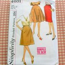 60s Skirts Vintage Sewing Pattern Simplicity 4601