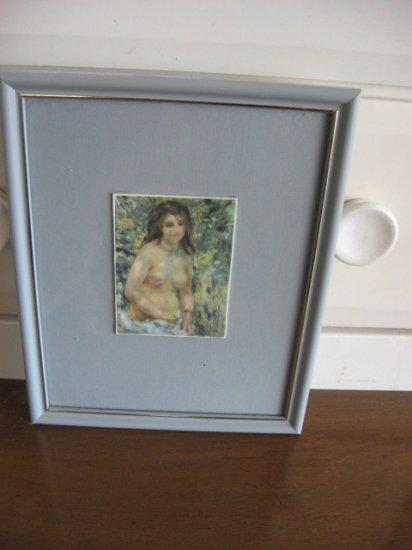 #6 Figurative Ladies Waiting Framed Artwork 3
