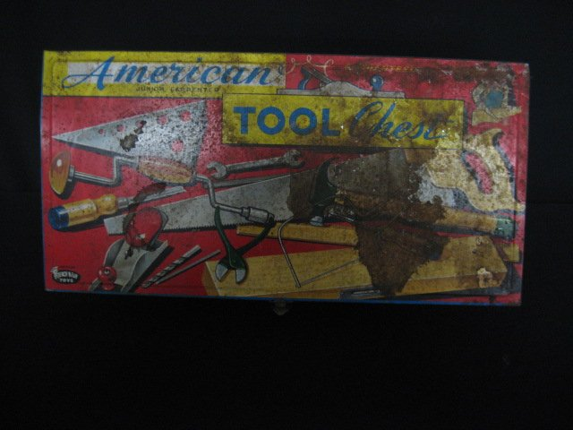 #1 Vintage Childs Tool Box