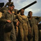 WWII M4 SHERMAN TANK SOLDIERS PHOTO ARMY 1942 FORT KNOX 40s 1940's WORLD WAR 2 HANDSOME MEN